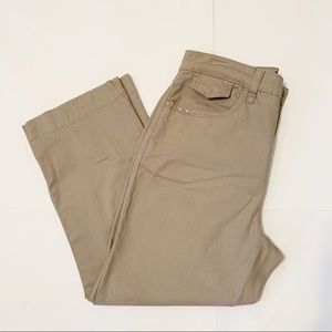 """FDJ French Dressing Jeans """"Peggy"""" Cropped Khakis"""